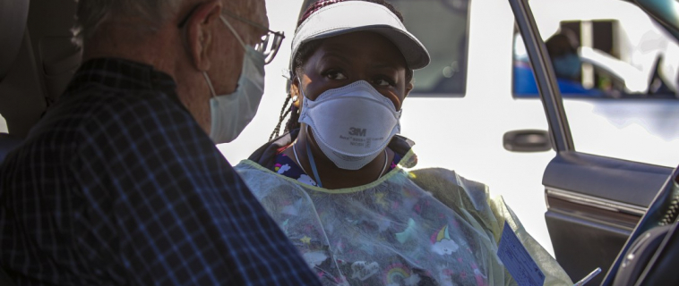 Meet the Travel Nurses Saving Californians One Vaccination at a Time