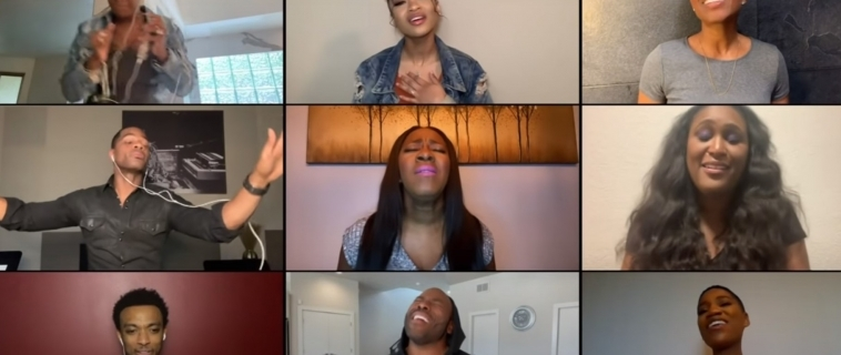 """Kirk Franklin, Kelly Price, Fantasia, Tyrese & More Take Us to Church With """"I Smile"""" Performance!"""