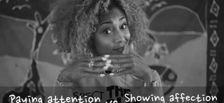 Attention versus Affection According to Amanda Seales