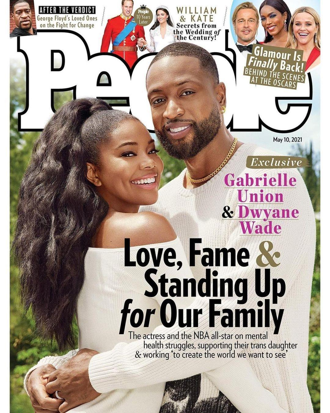 Dwyane Wade & Gabrielle Union on New Book, Love & Standing Up For Family