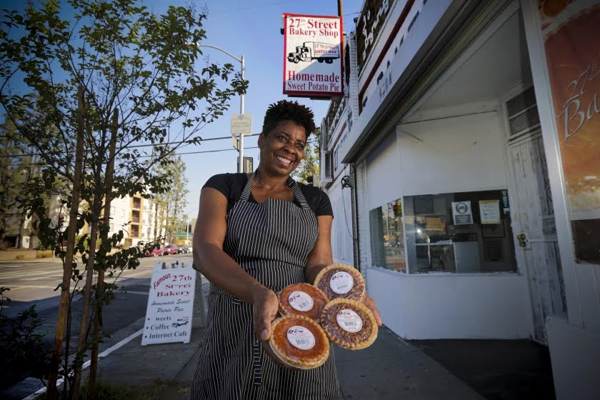 27th Street Bakery A Los Angeles Treasure Co owned by Former Olympian Gold Medal Winner, Jeanette Bolden-Pickens
